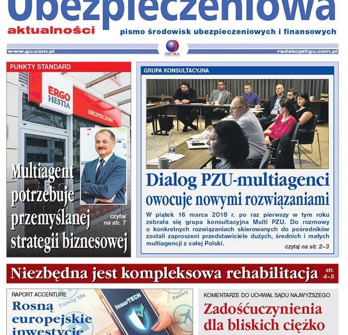 W najnowszym wydaniu GAZETY UBEZPIECZENIOWEJ komentarz Marka Niewiadomskiego