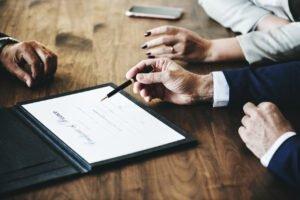 podpisanie ochrony prawnej